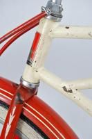 Vintage 1949 Huffman Airflyte Balloon Tire Bicycle Antique Bike Red