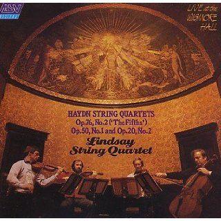 String Quartets, Op 20, 50 & 76 Haydn, Lindsay String