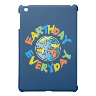Earth Day iPad Mini Cases, Earth Day iPad Mini Covers