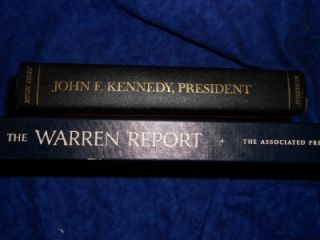 and John F Kennedy President by Hugh Sidey 1964 2 Books JFK