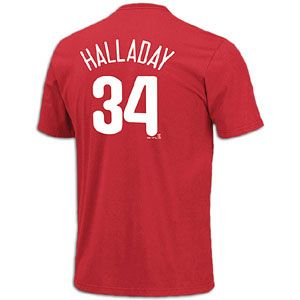 Show your team loyalty in the Majestic MLB PLayer Name and Number Tee