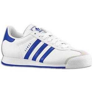 adidas Originals Samoa   Mens   White/Collegiate Royal/Collegiate