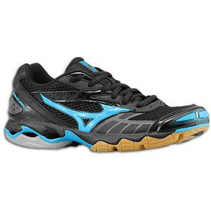 Mizuno 430147 Wave Bolt Mens Volleyball Shoe White Black Size 15 New