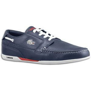 Lacoste Dreyfus   Mens   Casual   Shoes   Dark Blue/White