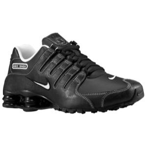 Nike Shox NZ   Mens   Running   Shoes   Black/White