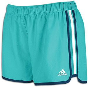 adidas M10 Short   Womens   Running   Clothing   Ultra Green/Power