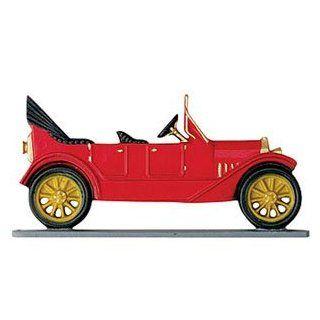 Antique Auto Weathervane Garden Color