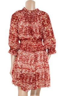 Étoile Isabel Marant Bell printed silk chiffon dress   55% Off