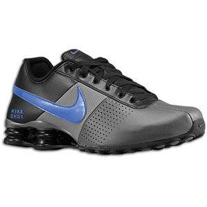 Nike Shox Deliver   Mens   Running   Shoes   Dark Grey/Game Royal