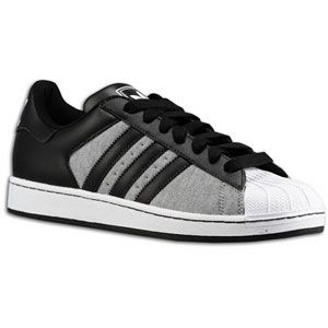 adidas Originals Superstar 2   Mens   Medium Grey Heather/Black/White