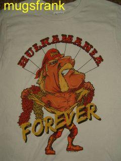 Hulk Hogan Hulkamania Hulk Forever Wrestling T Shirt