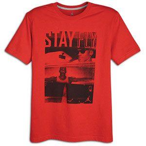 Jordan Stay Fly T Shirt   Mens   Basketball   Clothing   Gym Red