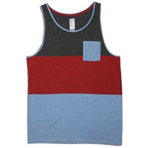 Billabong Thunder Stripe Pocket Tank   Mens   Casual   Clothing