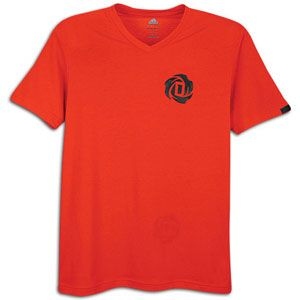 adidas Rose V Neck T Shirt   Mens   Basketball   Clothing   Light
