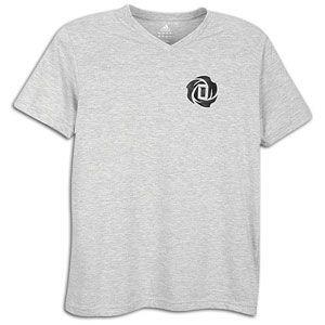 adidas Rose V Neck T Shirt   Mens   Basketball   Clothing   Medium