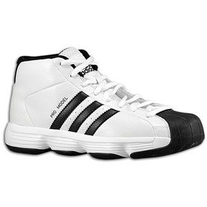 adidas Pro Model   Boys Grade School   Basketball   Shoes   White