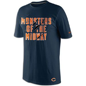 Nike NFL Local T Shirt   Mens   Football   Fan Gear   Chicago Bears