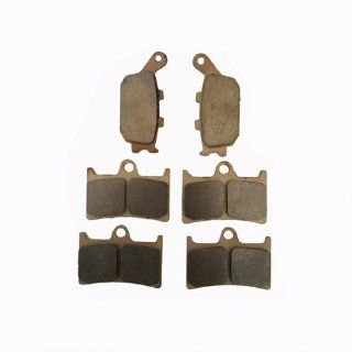 YAMAHA YZF R1 5VY LE Sintered metal Front Rear Brake Pads 2004 2005