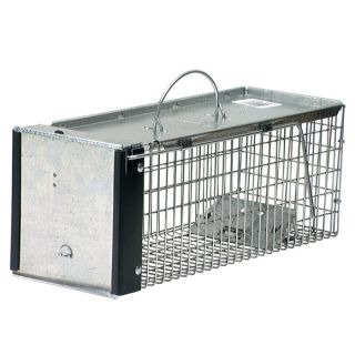 "Humane Live Animal Trap Rats Chipmunks Weasels Voles 16"" x 6"" x 6"