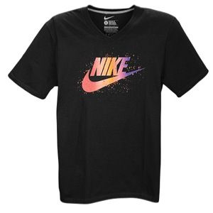 Nike Graphic T Shirt   Mens   Casual   Clothing   Black/Orange/Purple