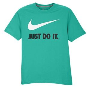 The Nike JDI Swoosh T Shirt features Nikes instantly recognizable