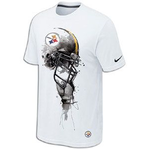 Nike NFL Tri Blend Helmet T Shirt   Mens   Pittsburgh Steelers
