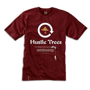 LRG Everyday Hustle T Shirt   Mens   Skate   Clothing   Maroon