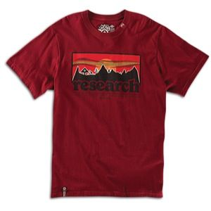 LRG Motherland Research T shirt   Mens   Skate   Clothing   Maroon