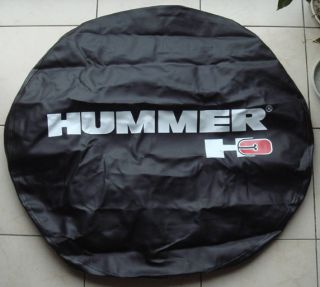 HUMMER H3 Leather Spare Wheel Tire Cover 265 75R16 P285 70 R16 Good