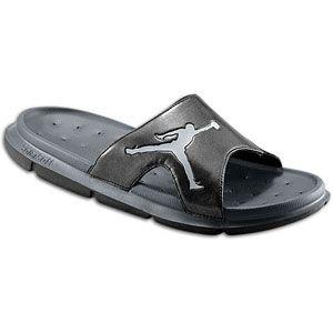 Jordan RCVR Slide   Mens   Casual   Shoes   Black/Anthracite