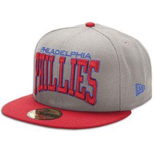 New Era MLB Pro Arch Cap   Mens   Baseball   Fan Gear   Phillies