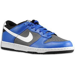 Nike Dunk Low   Mens   Basketball   Shoes   Dark Grey/White/Game