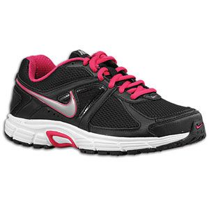 Nike Dart 9   Womens   Running   Shoes   Black/White/Metallic Cool