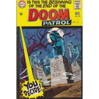 Doom Patrol #121 Back Issue Comic Book (Oct 1968) Very