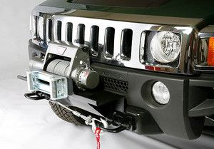 Hummer H3 H3T High Mount Custom Winch Mount Bracket