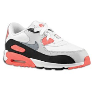 Nike Air Max 90   Boys Toddler   White/Neutral Grey/Infrared/Metallic