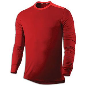 Nike Dri Fit Softhand L/S Running T Shirt   Mens   Running   Clothing