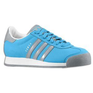 adidas Originals Samoa   Mens   Soccer   Shoes   Turquoise/Tech Grey
