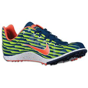 Nike Zoom Victory Waffle   Mens   Light Midnite/Bright Crimson/Volt