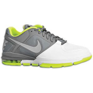 Nike Trainer 1.3 Low   Mens   Training   Shoes   Cool Grey/White/Volt