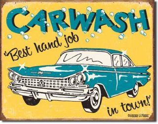 Humorous Sign Car Wash Best Hand Job