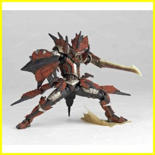 123 Swordsman Rathalos Laeus Figure Monster Hunter Toy