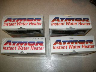 Super Tankless Instant Hot Water Heaters Lot of 4 Electric