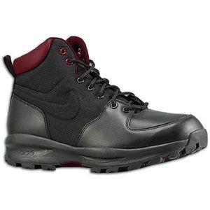 Nike ACG Manoa   Mens   Casual   Shoes   Black/Team Red/Team Orange