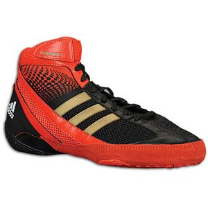 adidas Response III   Mens   Wrestling   Shoes   Black/Core Energy
