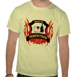 Aged To Perfection 65th Birthday Gifts T Shirts