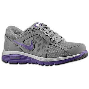 Nike Dual Fusion Run   Womens   Running   Shoes   Cool Grey/Court