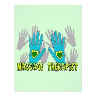 Massage Therapist Gifts Personalized Flyer