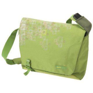 Franklin Covey Laptop Messenger Bag Nylon by BJX   Electric Green