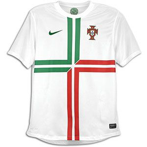 Nike Short Sleeve Replica Jersey   Mens   Portugal   Football White